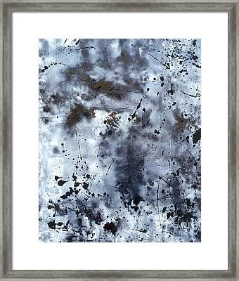 Continued Forecast - Dark Skies Framed Print