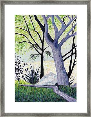 continuing Dilemna Framed Print by Suzanne  Marie Leclair