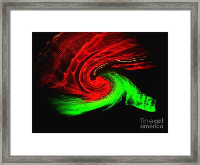 Continuum Framed Print by Patric Carter