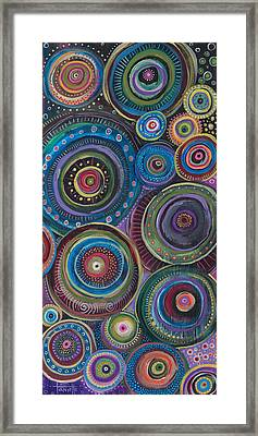 Continuum Framed Print by Tanielle Childers