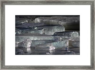 Contoocook River Jewels Framed Print