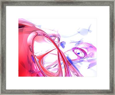 Contortion Abstract Framed Print by Alexander Butler