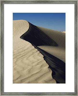 Contours Framed Print by Chad Dutson