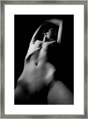 Contours Framed Print by Joe Kozlowski