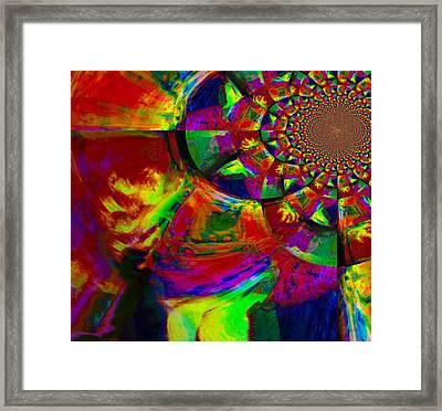 Contradiction Framed Print