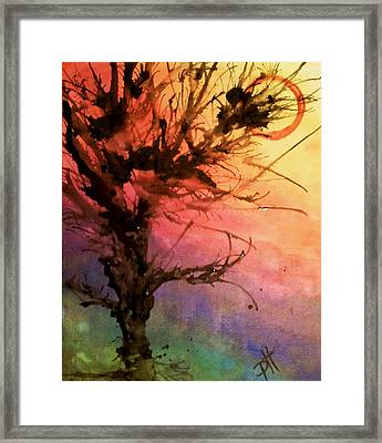 Contradiction Framed Print by Patti Spires Hamilton