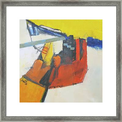 Contradiction Framed Print by Ron Stephens