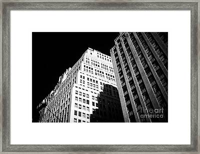 Framed Print featuring the photograph Contrast by John Rizzuto