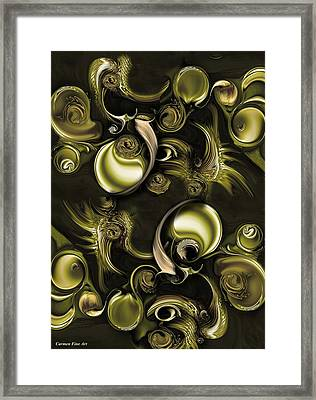 Contrast Of Life Framed Print
