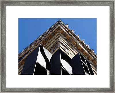 Contrast Framed Print