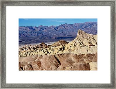 Contrasting Landscapes Framed Print by Adam Smith