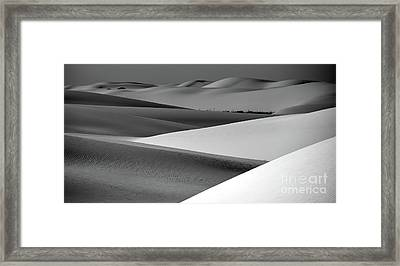 Framed Print featuring the photograph Contrasting Sand by Brian Spencer