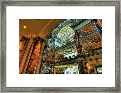 Contrasts Framed Print