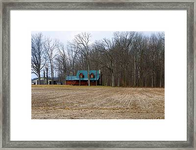 Contrasts Framed Print by Tina M Wenger