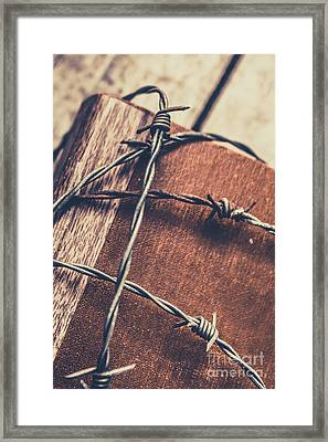 Control And Confidentiality Framed Print by Jorgo Photography - Wall Art Gallery
