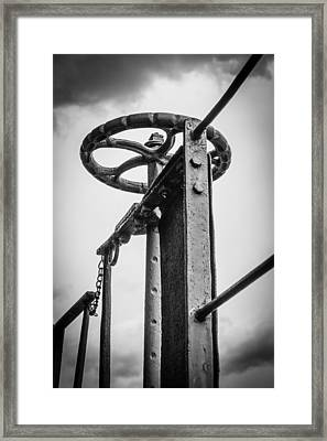 Control Framed Print by Revel Photo