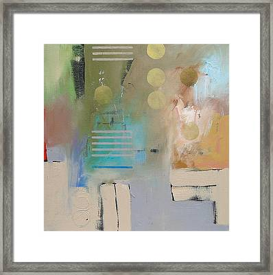 Conundrum  Framed Print by Linda Monfort