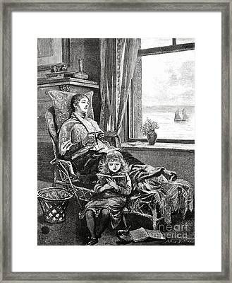 Convalescent  Framed Print