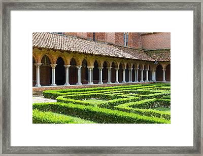 Convent Insde Eglise Des Jacobins Or Church Of The Jacobins Framed Print