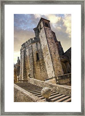 Convent Of Christ In Tomar Framed Print