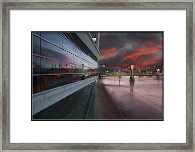 Convention Center Framed Print by Bill Schmitt