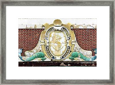 Convention Hall Facade Fish Framed Print