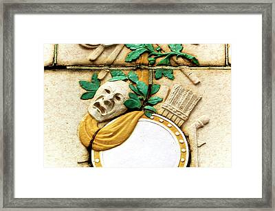 Convention Hall Tragedy Facade Framed Print