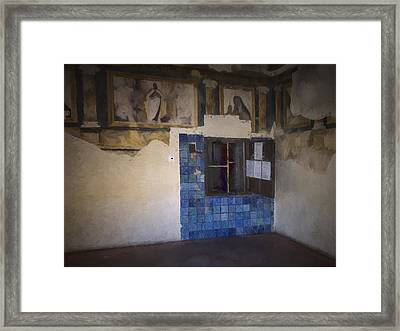 Convento De Santa Ines Dulces Framed Print by Joan Carroll