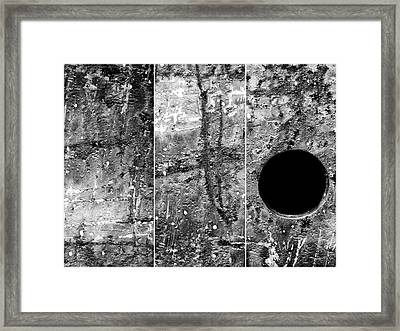 Converge Framed Print by Tom Druin