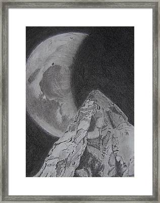 Convergence Framed Print by Nick Young