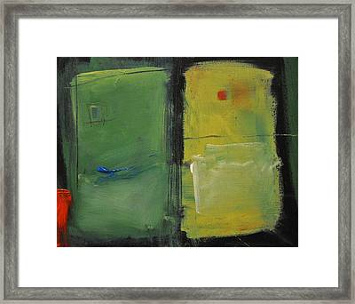 Conversation With Rothko Framed Print by Tim Nyberg
