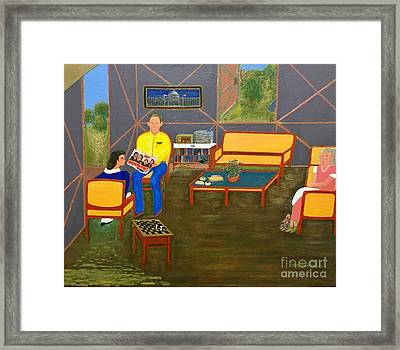 Conversations Collection Framed Print