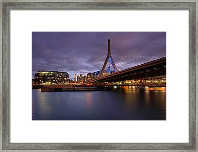 Converse Framed Print by Juergen Roth