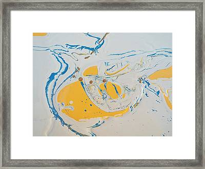 Convertible Flooded In Vegas Framed Print
