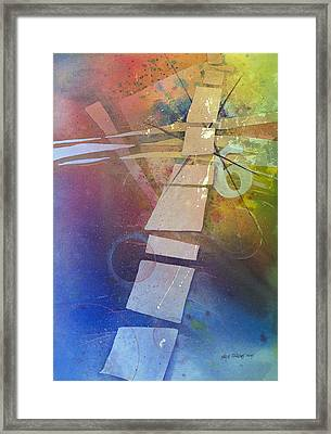 Conveyance Framed Print by Kris Parins