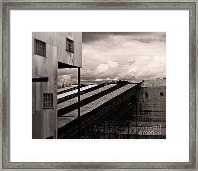 Conveyor Of History Framed Print