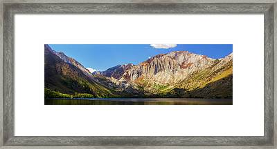 Convict Lake - Mammoth Lakes, California Framed Print