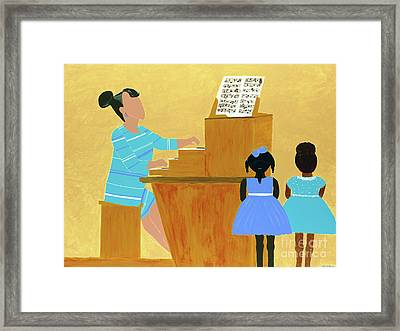 Convocation Framed Print