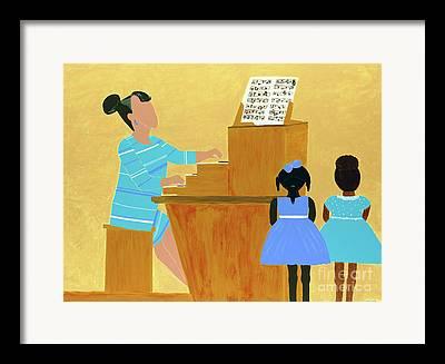 African American Artist Framed Prints