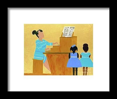 Teach Framed Prints
