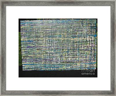 Framed Print featuring the painting Convoluted by Jacqueline Athmann