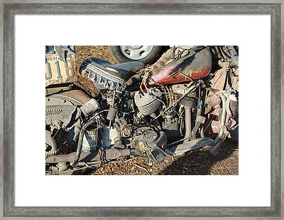 Convoluted Framed Print by Timothy Hedges