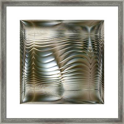 Convolution - Middle Part Framed Print by Li   van Saathoff