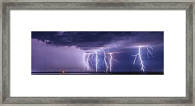 Conway Bolts Framed Print