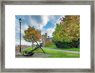 Conwy Castle Autumn Framed Print
