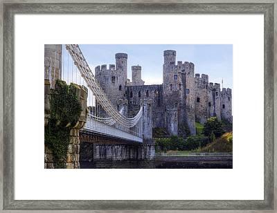 Conwy Castle - Wales Framed Print by Joana Kruse