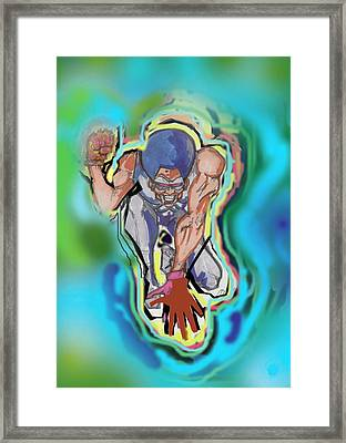Conzstable Ngz Framed Print by Derrick Hayes