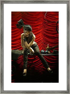 Cooey Framed Print by Jez C Self