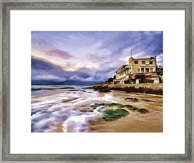 Coogee Beach Framed Print by Alex Zolotar