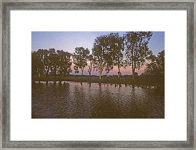 Framed Print featuring the photograph Cooinda Northern Territory Australia by Gary Wonning